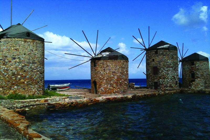 Sakız Adası - Çeşme - Alaçatı